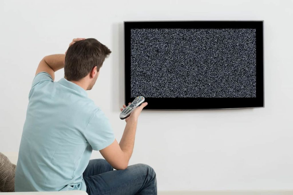 Try and fix the TV problem first